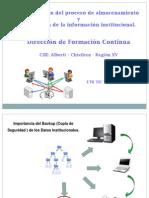 Presentación at Optimización Del Proceso de Almacenamiento y Circulación de La Información Institucional