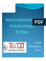 Tarco LA Heavy Oil Optimization and Production Strategies 230512 ENG