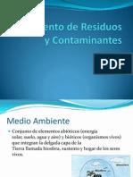 Tto de Residuos Contaminantes