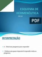 Esquema de Hermenêutica