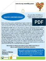 Dietitian Post Lunchbox Ideas