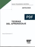 Antología de Teorías de Aprendizaje