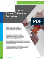 CS-RFP Assistance for an IT Services Company