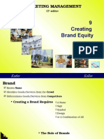 Lec 08_Chapter 09 (Creating Brand Equity) Done