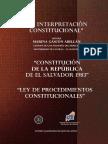 La Interpret Ac i on Constitucion Al
