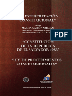 La Interpret Ac i on Constitucion Al