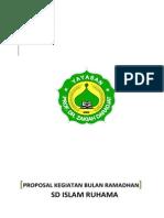 Proposal Kegiatan Bulan Ramadhan