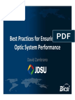 04-David Zambrano - JDSU - Ensuring Fiber Optic System Performance