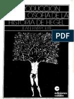 84959570 Hyppolite Introduccion a La Filosofia de La Historia de Hegel OCR