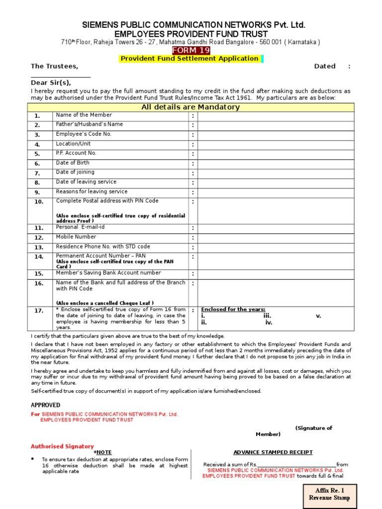 FORM 19 | Public Finance | Taxation