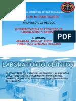 Interpretación de Estudios de Laboratorio y Gabinete