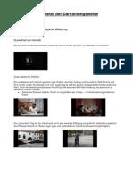 Parameter Der Darstellungsweise-Projektprõsentation