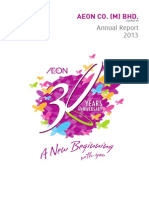AEON Annual Report 2013