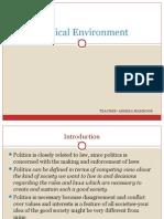 Political Environment
