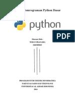 Modul Pemrograman Python Dasar