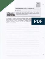 Test Model 2NA Writing