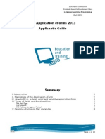 Applicants Guide LLP EForms 2013