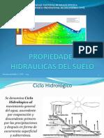 MECANICA de SUELOS I 9 Propiedades Hidraulicas Del Suelo