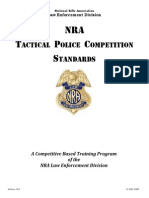 National Rifle Association Tackicle Police Competition Standards