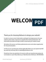 web design questionaire pro-bond distributed