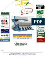 19th August,2014 Daily Global Rice E-Newsletter by Riceplus Magazine