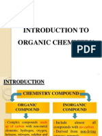 Introduction to Orgnic Chemistry
