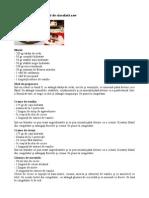 Tort de Fructe Cu Glazura de Ciocolata Raw