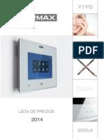 Lista Precios Fermax 2014