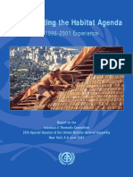 Implementing the Habitat Agenda - The 1996 - 2001 Experience