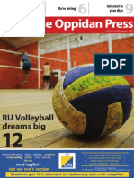 The Oppidan Press Edition 8, 2014