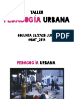 Pedagogía Urbana