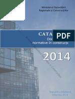 Catalog Documente Normative in Constructii 2014 Editia II