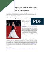Retour Sur La Plus Jolie Robe de Blake Lively Lors Du Festival de Cannes 2014
