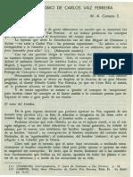 Campos, M.a - El Esepticismo de Carlos Vaz Ferreira