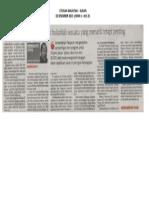 02.12.2013 - Program Pembangunan Sukan Bukanlah Sesuatu Yang Menarik Tetapi Penting - Utusan Malaysia