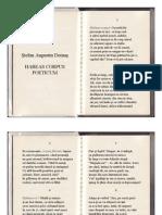 Ştefan Augustin Doinaş - Habeas Corpus Poeticum