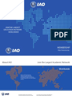 International Accreditation Organization's Membership Brochure