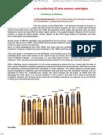 Amm 20mm Cannon Cartridges