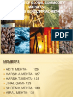 Dynamic of Global Commodity Markets