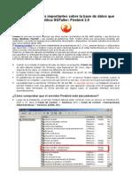 Consideraciones Importantes Base Datos SGTaller