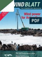 WINDBLATT -Wind Power for Antarctic