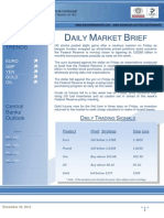 Daily Market Brief (Monday, December 16, 2013)
