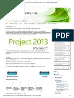 Ronaldo Talison_ Microsoft Project 2013 PT-BR + Crack - Ativação completa Download