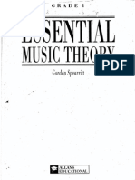 Essential Music Theory Grade I - Gordon Spearritt