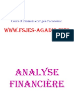 Cours de Gestion Financiere de Mr Bengrich