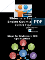 Slideshare Search Engine Optimization Tips v1.0