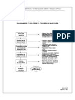 Diagrama de Flujo Para El Proceso de Auditoria