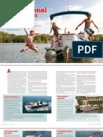 16 foot pontoon    Premier Pontoons  www.pontoons.com
