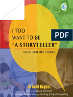 I Too Want to Be a Storyteller