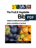 Fruit and Vegetable Bible